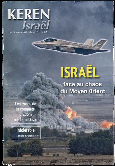 Keren n°111 : Israël face au chaos du Moyen-Orient