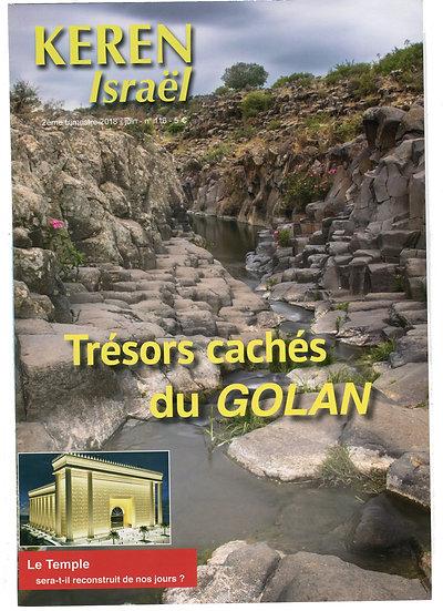 Keren n°116 : Trésors cachés du Golan