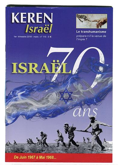 Keren n°115 : Israël 70 ans