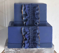 Blue Display Cake