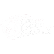 Logo blanc Bàsquet Sa Cabaneta