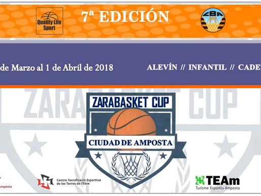 TORNEIG ZARABASKET CUP 2018 AMPOSTA (TARRAGONA) del 28/3 al 2/4