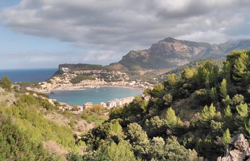 Excursió al port de Sóller dia 12 d'octubre