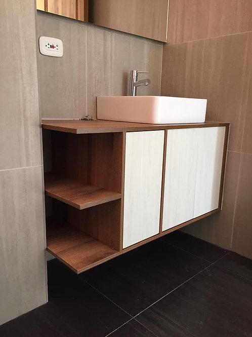 Mueble de baño Amarreto