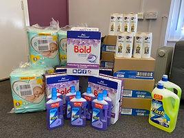 Hygiene Bank donation.jpg