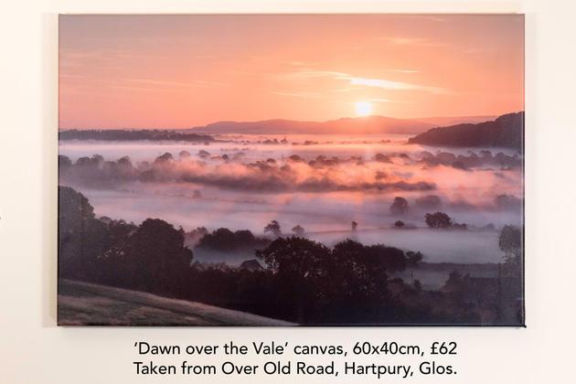 Dawn over the Vale canvas.jpg