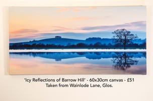 Barrow Hill Icy Reflections camvas.jpg