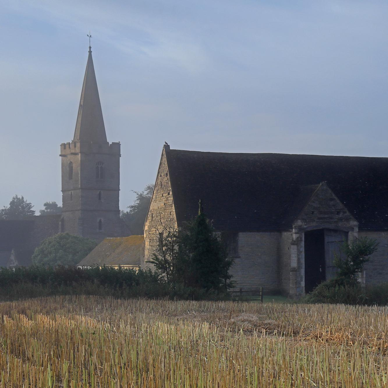 Ashleworth Church and Tithe Barn