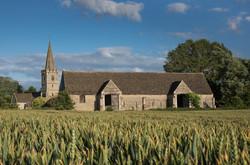 Church and Tithe Barn Summer