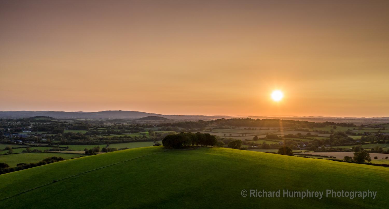 Sunset over Barrow Hill - DJI1