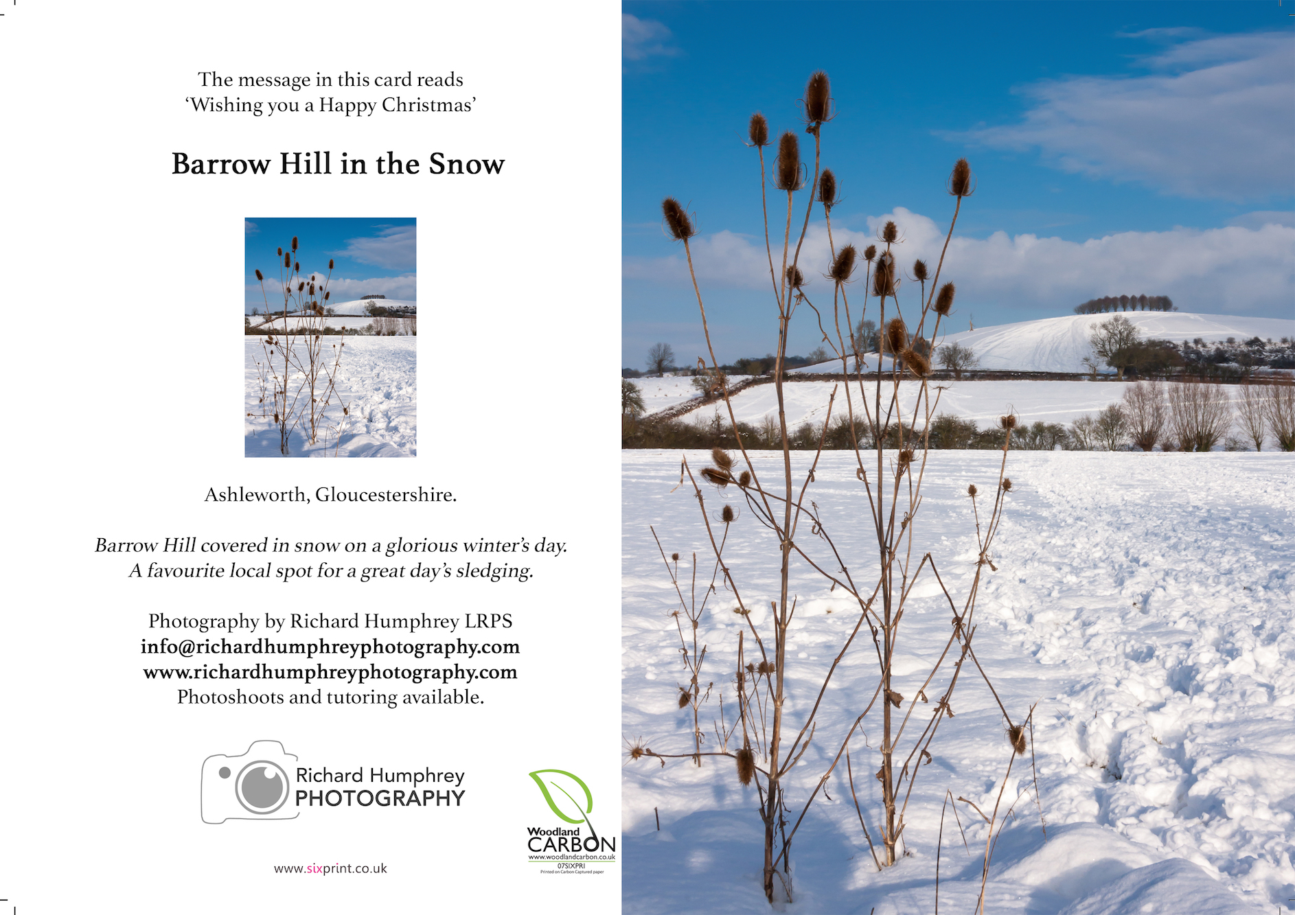 Barrow Hill in Snow