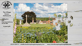 Ashleworth Village Green with pieces and
