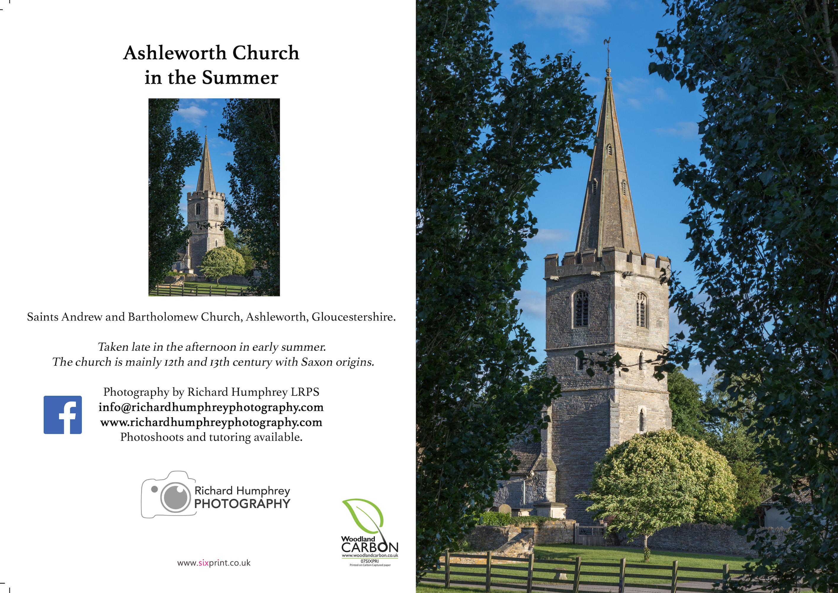 Ashleworth Church in Summer