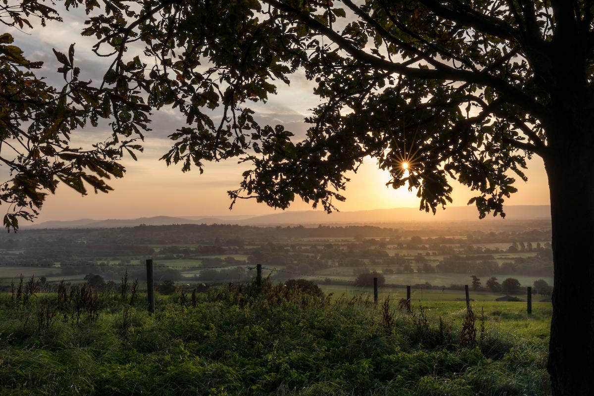 Sunrise from Barrow Hill - 18/09/20
