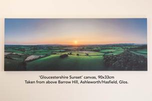 Gloucestershire Sunset canvas.jpg