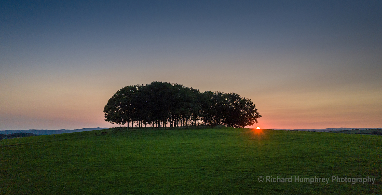 Sunset over Barrow Hill - DJI3