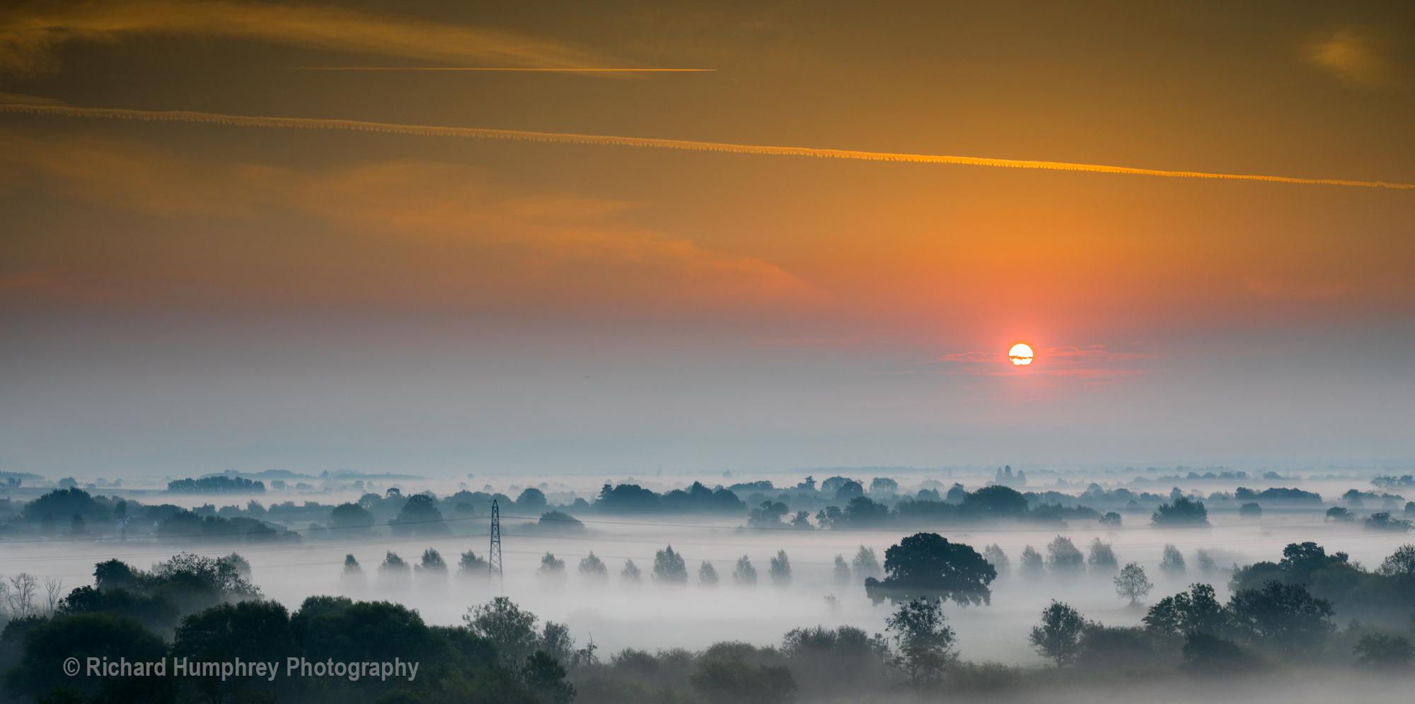 Sunrise across the Severn Vale - 07/09/20
