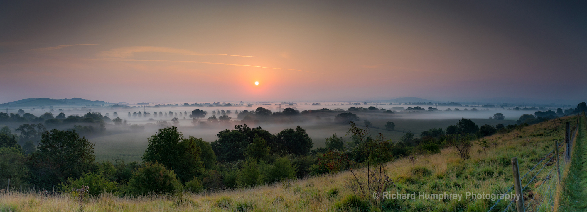Dawn over the Severn Vale - 07/09/20