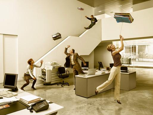 ¿Hay que divertirse en el trabajo?