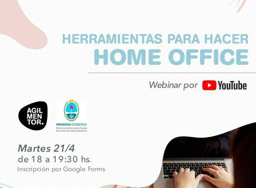 ¡Atención! Mañana martes charla virtual para pymes y emprendedores