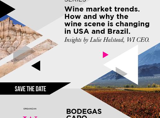 Lulie Halstead ofrecerá en Mendoza importante charla para emprendedores del vino