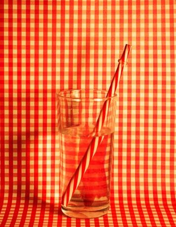 Vaso Rojo