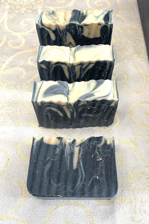Activated Charcoal and Shea Butter bar Soap