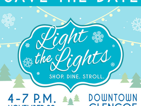 AIR Studio + Gallery Will Participate in the Village of Glencoe's Light the Lights Event