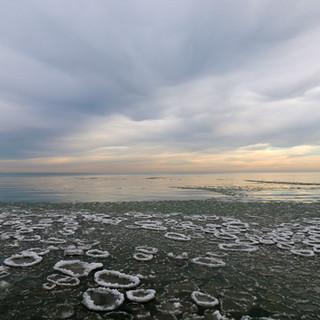 Ice Islands, Glencoe Beach