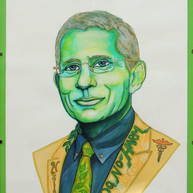 Devotion Restrained: Portrait of Anthony Fauci, M.D.