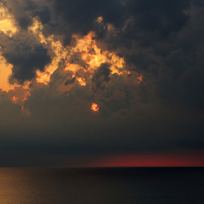 Stormy Dawn, Glencoe Beach