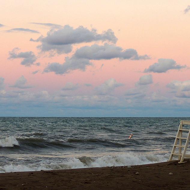 Sunset, Glencoe Beach