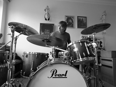 My Willy and his drums... ;)