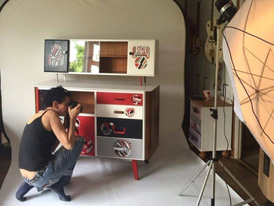 Furniture shooting.