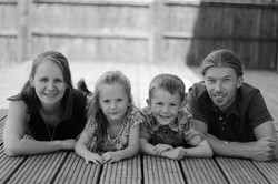 Family Photography black and white