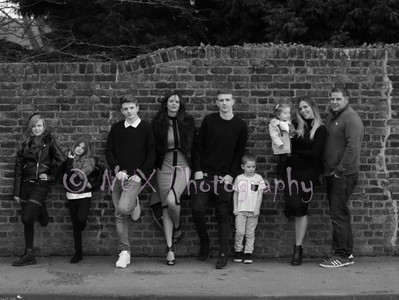 Photographing Deb's family