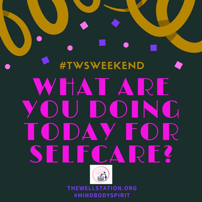 Self Care Saturday!