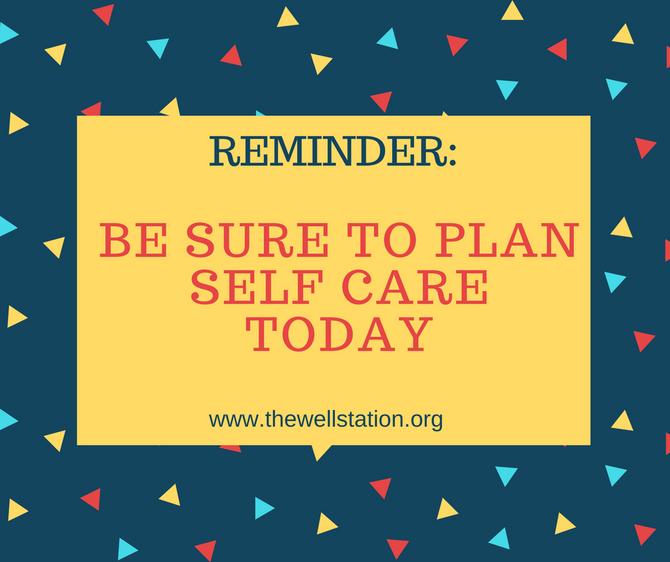 Labor Day Self Care