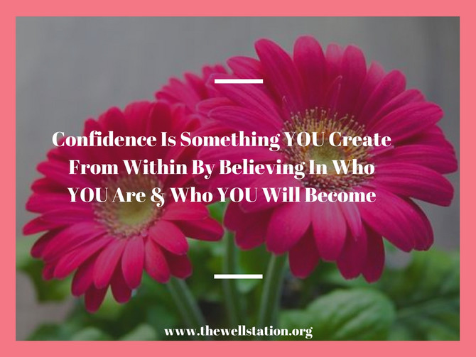 You Should Believe In Yourself