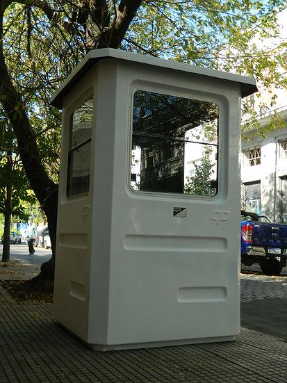 2) Cabina de Vigilancia INDIVIDUAL 1300 x 1300 x 2150 mm (H)