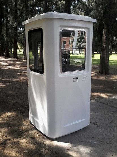 1) Cabina de Vigilancia INDIVIDUAL 1100 x 1100 x 2150 mm (H)
