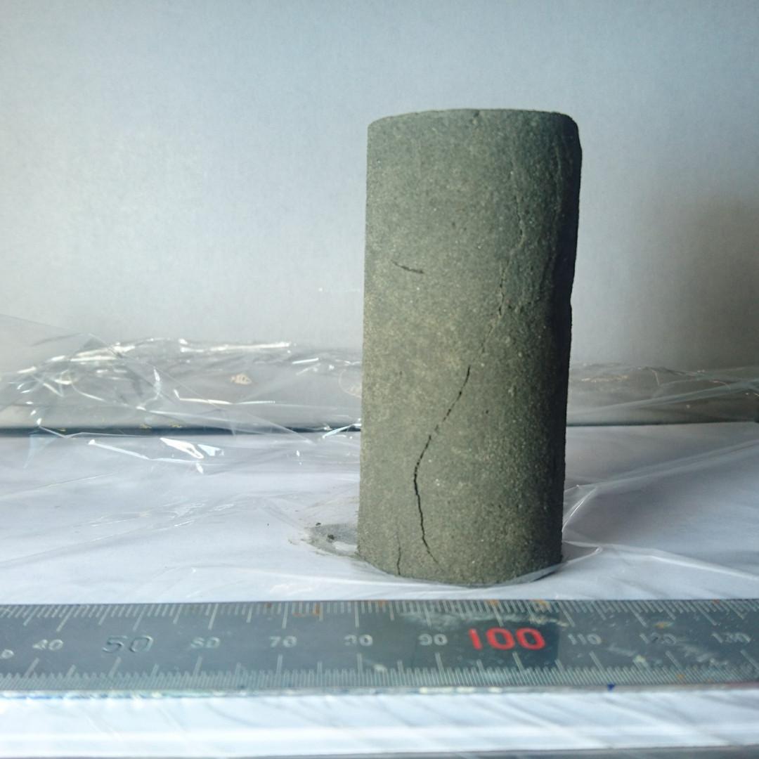 一軸圧縮試験 (3)