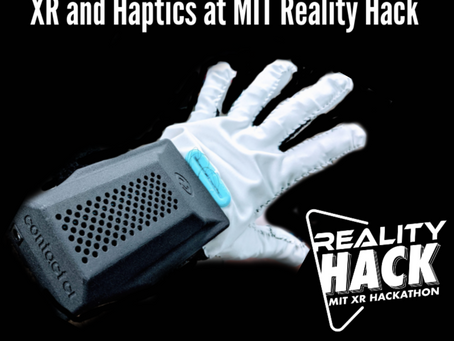 XR and Haptics at MIT Reality Hack with Tom Buchanan of Contact CI