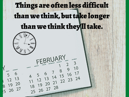 It's will be less difficult, but it will take longer...