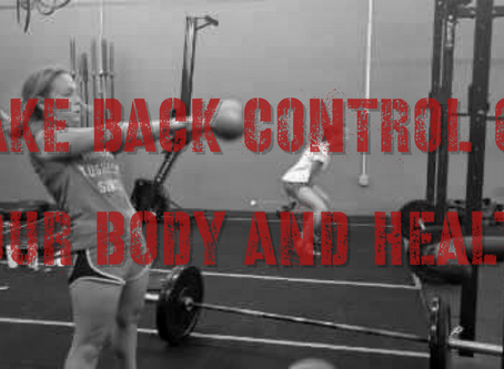Take Back Control Of Your Body And Health
