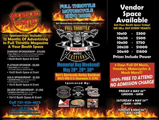 Expo Vendors Needed !