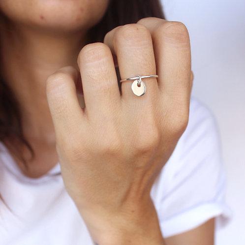 Caneiret, anneau avec pendant
