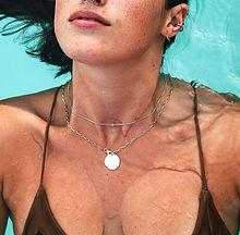Colliers en argent femme créateur, marque de bijoux fantaisie de qualité