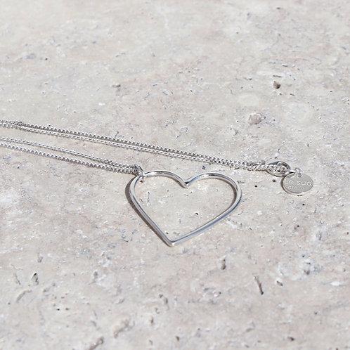 Armitelle, collier coeur