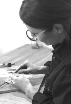 Fabrication artisanale de bijoux en argent